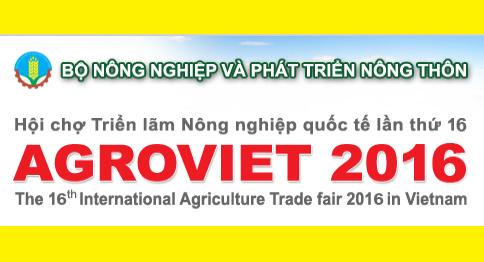 Giảm 10% Triển Lãm Nông Nghiệp Quốc Tế Agroviet 2016