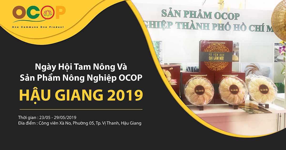 Khuyến Mãi 10% - Ngày Hội Tam Nông Và Sản Phẩm Làng Nghề OCOP 2019